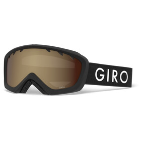 Giro Chico Gafas Niños, black zoom/amber rose